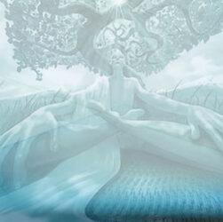 meditazione guidata dell'albero radicamento
